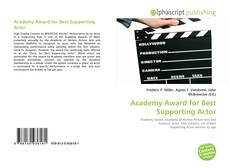 Bookcover of Academy Award for Best Supporting Actor