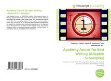 Bookcover of Academy Award for Best Writing (Adapted Screenplay)
