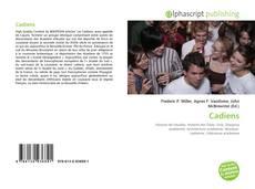 Cadiens kitap kapağı