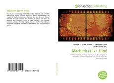 Macbeth (1971 Film)的封面