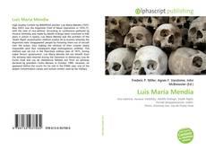 Bookcover of Luis María Mendía