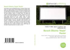 "Bookcover of Barack Obama ""Hope"" Poster"
