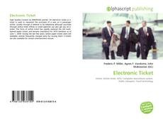 Bookcover of Electronic Ticket