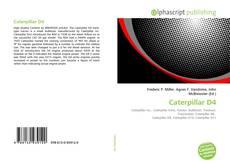 Caterpillar D4 kitap kapağı
