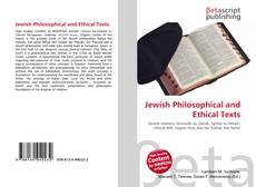 Copertina di Jewish Philosophical and Ethical Texts