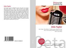 Bookcover of Zola Taylor