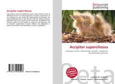Capa do livro de Accipiter superciliosus