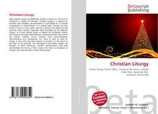 Bookcover of Christian Liturgy