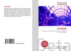 Bookcover of Accolade