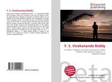 Bookcover of Y. S. Vivekananda Reddy