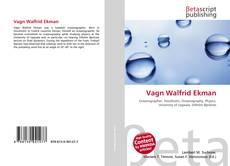 Bookcover of Vagn Walfrid Ekman