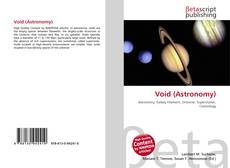 Bookcover of Void (Astronomy)