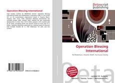 Operation Blessing International的封面