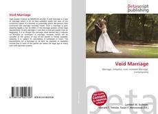 Buchcover von Void Marriage