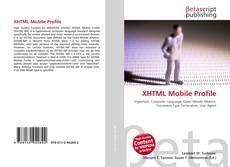 Bookcover of XHTML Mobile Profile