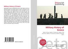 Bookcover of Military History of Greece