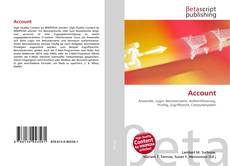 Bookcover of Account