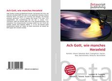Bookcover of Ach Gott, wie manches Herzeleid
