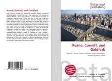 Buchcover von Ruane, Cunniff, and Goldfarb
