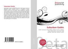 Capa do livro de Suburban Gothic