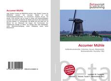 Bookcover of Accumer Mühle