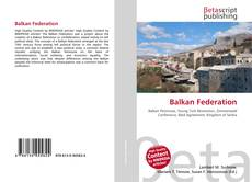 Bookcover of Balkan Federation