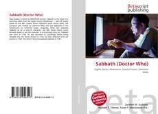Copertina di Sabbath (Doctor Who)