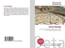 Bookcover of Wadi Rabigh