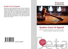 Bookcover of Quebec Court of Appeal