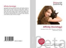 Couverture de Affinity (Sociology)
