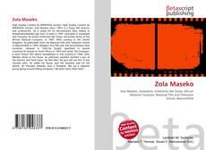 Bookcover of Zola Maseko