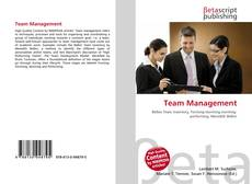 Bookcover of Team Management