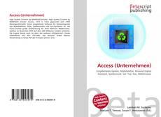 Copertina di Access (Unternehmen)