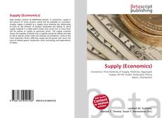 Capa do livro de Supply (Economics)
