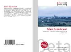 Sabce Department kitap kapağı