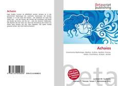 Bookcover of Achaios