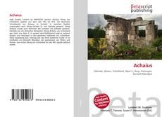 Bookcover of Achaius