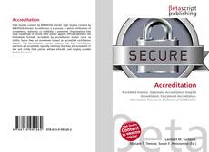 Bookcover of Accreditation