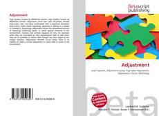 Bookcover of Adjustment
