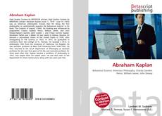 Bookcover of Abraham Kaplan