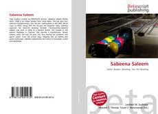 Capa do livro de Sabeena Saleem