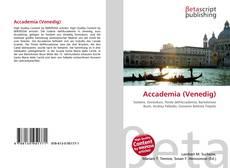 Buchcover von Accademia (Venedig)