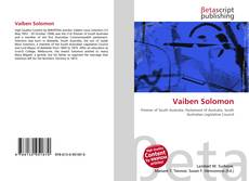 Bookcover of Vaiben Solomon