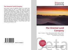 Portada del libro de The Oriental Land Company