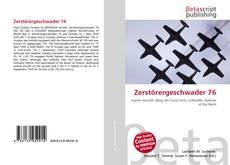 Обложка Zerstörergeschwader 76