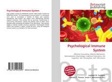 Обложка Psychological Immune System