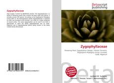 Bookcover of Zygophyllaceae