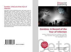 Copertina di Zombies: A Record of the Year of Infection