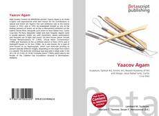 Bookcover of Yaacov Agam