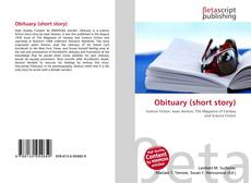 Bookcover of Obituary (short story)